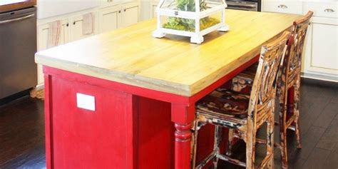remodelaholic   create faux reclaimed wood countertops