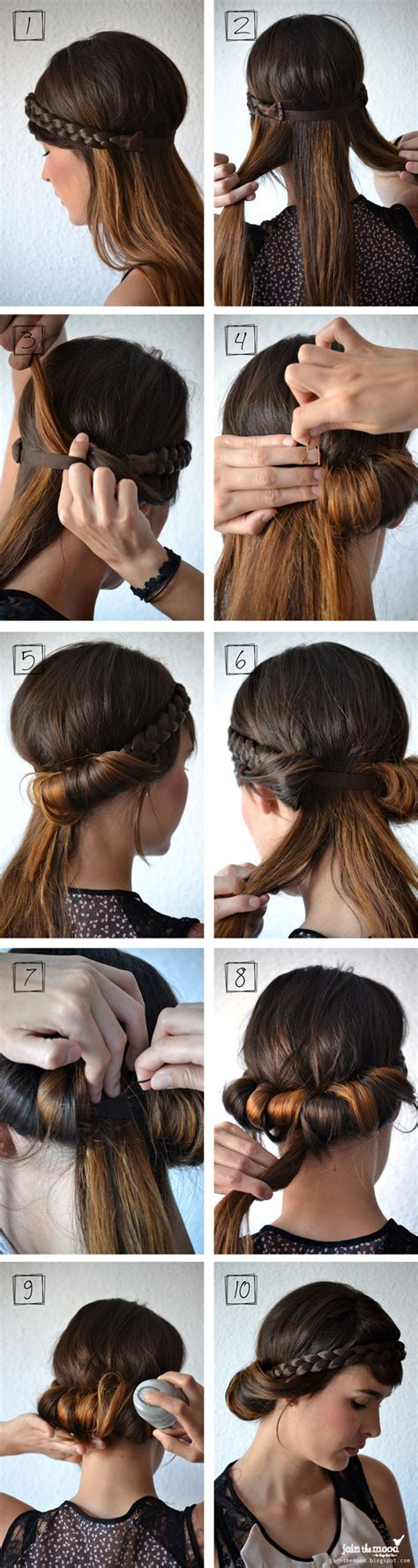 diy hairstyles with headband 10 fabulous diy hairstyles with hair accessories pretty