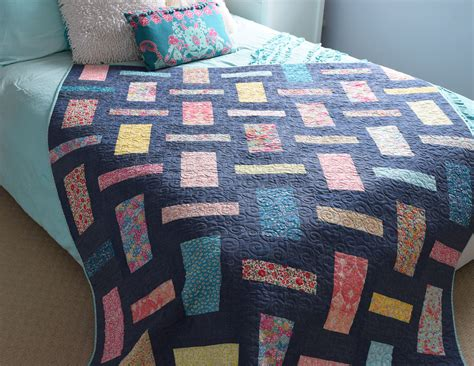 Denim Rag Quilt With A Twist by The Regent A Liberty Denim Quilt And A Free Project