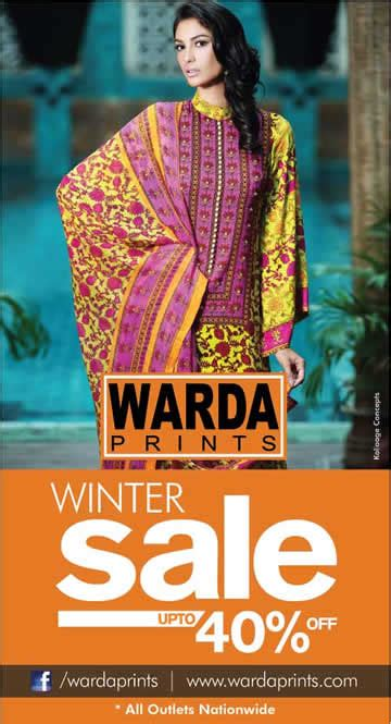 Winter Sale Collections by Deals In Pakistan 187 Warda Prints