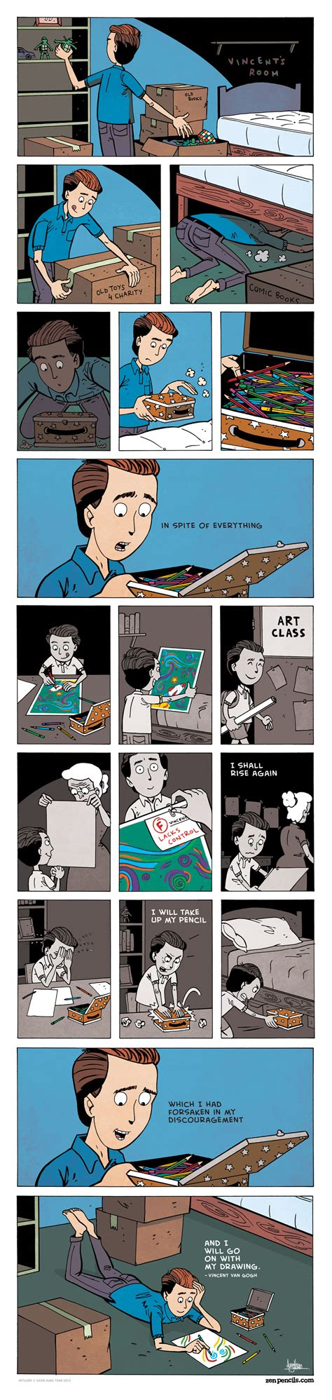 zen pencils creative struggle illustrated advice from masters of creativity books zen pencils 7 albert einstein everybody is a genius