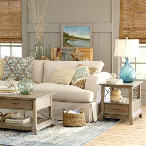 sandy beige and blue living room http www
