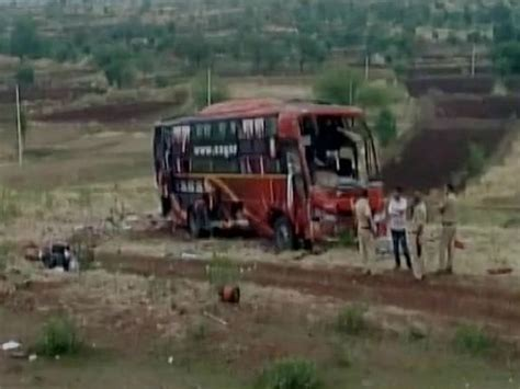 bookmyshow latur nine killed as after bus travelling from pune to latur
