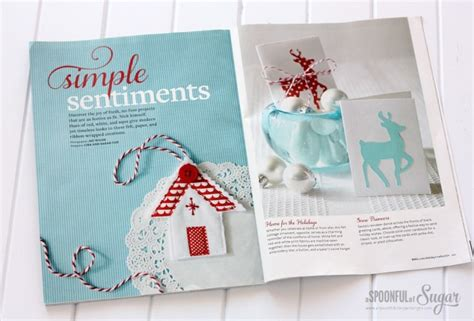 Better Homes And Gardens Holiday Crafts Magazine - holiday crafts 2014 a spoonful of sugar