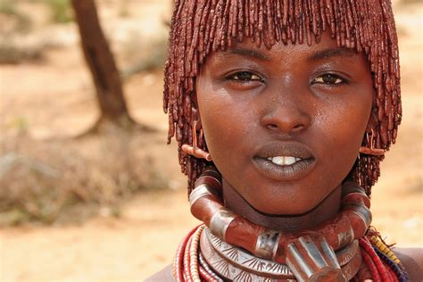 hamer ethiopian tribe women beautiful hamer tribe turmi ethiopia jane gjestland flickr