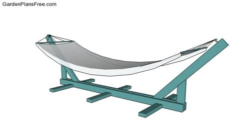 costruire amaca hammock stand plans free free garden plans how to