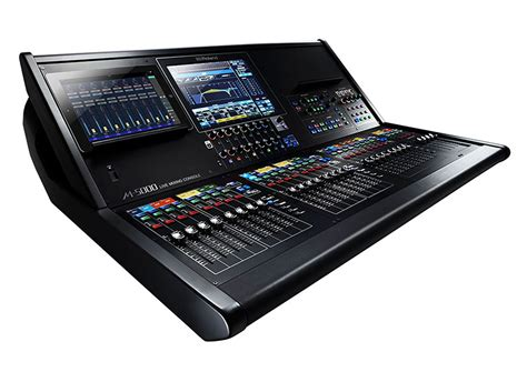 Info Mixer Audio roland m 5000 audio digital mixer at huss light sound