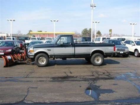 1995 F250 Specs by 1995 Ford F250 Xlt Regular Cab 4x4 Data Info And Specs