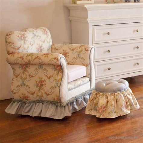 ottoman shabby chic baby crib designer nursery luxury crib