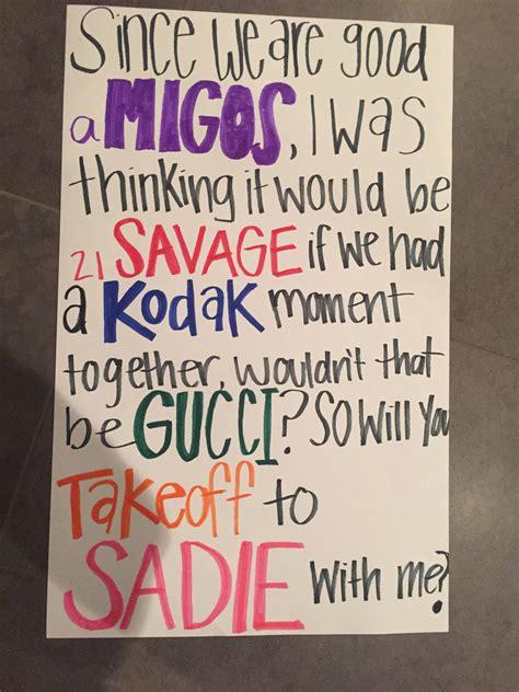 prom themes names rapper names sadie hawkins ask idea tips n trix
