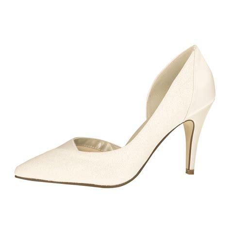 Satin Schuhe Ivory by Quot Roux Ivory Satin Ivory Glitter Quot Wundersch 246 Ne