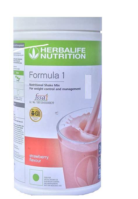 Herbalife Shake Strawberry herbalife formula 1 shake strawberry health drink 500 gm