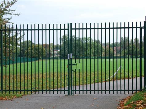 metal swing gates metal security gates jacksons security fencing