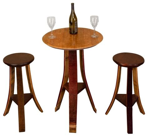 Rustic Bistro Table Small Tasting Table Rustic Indoor Pub And Bistro Tables By Napa East Collection