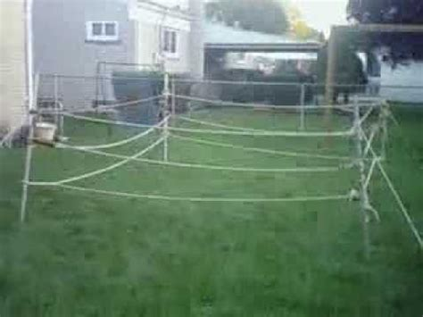 how to make a backyard wrestling ring vbw backyard wrestling ring youtube