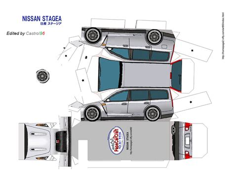 Papercraft Car Templates - car paper crafts