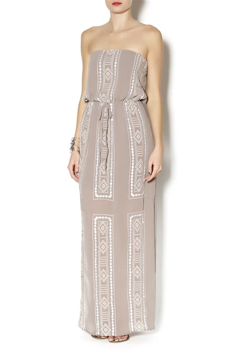 beaded maxi dress c luce beaded maxi dress from florida by mimi s boutique