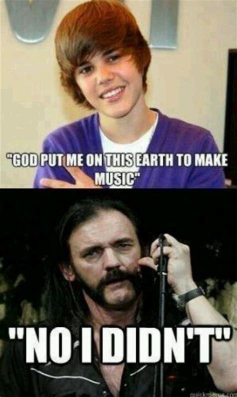 Lemmy Meme - justin beiber vs lemmy kilmister the sound of music