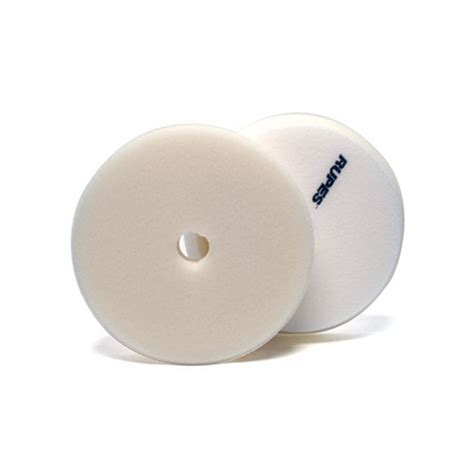 Rupes 180mm Finishing Pad White rupes foam finishing pad white 100mm 3 inch backing