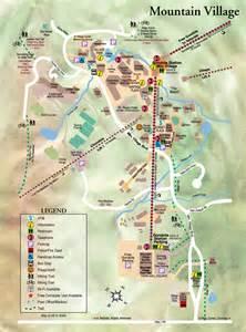 mountain tourist map mountain colorado