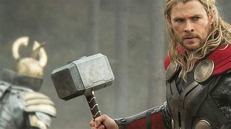 thor movie van mad props hands on with the guy who made thor s hammer