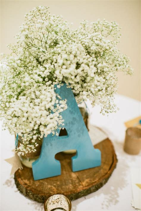 Shabby Chic Baby Shower Centerpieces by Wish Upon A Rustic Baby Shower Shabby Chic Shower