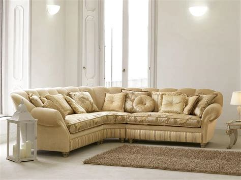 couch mobile corner sofa in luxury classic style curvy shape idfdesign