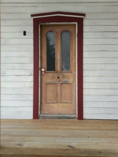 Designer Garage Doors help with refinishing old antique farmhouse doors and