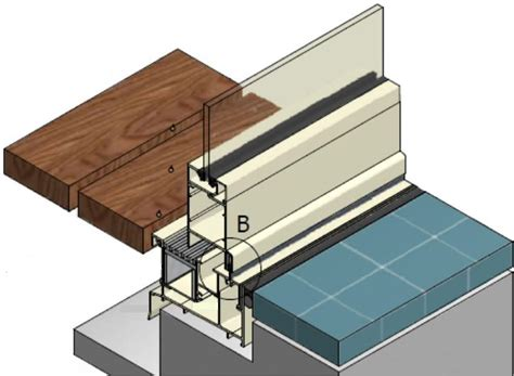 Flush Window Sill Building Up To The Bifold Sill For Flush Floor Look