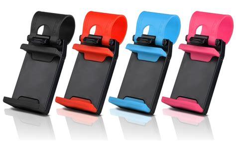 Car Holder Steering Wheel car steering wheel phone holder ebeez co uk
