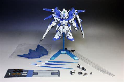 Sd Gundam Rx 93 Hi V Recoulor Papercraft gundam sd rx 93 2 hi v gundam customized build
