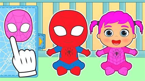 imagenes animadas youtube beb 201 s de spiderman y spidergirl gameplay con