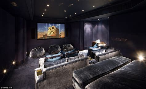 bed cinema sprawling london mansion with enormous gym complex and