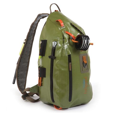 Sling Bag Pouch Waterproof Miniso fishpond thunderhead sling pack green fly fishing bag