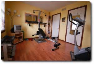 Home gym how to makeover an empty room for exercise space