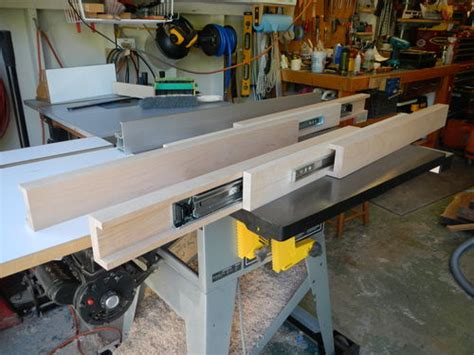 Make Drawer Mechanism by Dining Table Extension Slides By Davesj Lumberjocks