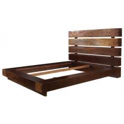 wood bed frame iggy king platform bed frame