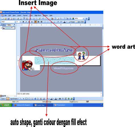 Membuat Gambar Header Html | halaman160 blogspot com membuat gambar header blog dengan