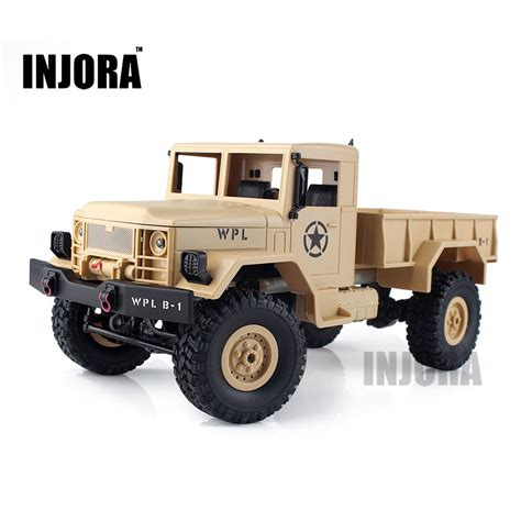 Rc Road Truck by Injora New 1 16 Scale Rc Rock Crawler Road 4wd