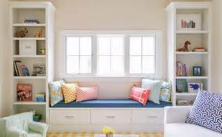 window seat and bookshelves kitchen window seat transitional kitchen style at home
