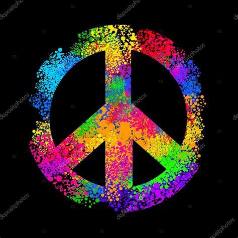 imagenes de simbolos hippies simbolo di hippy retr 242 vettoriali stock 169 yulianas