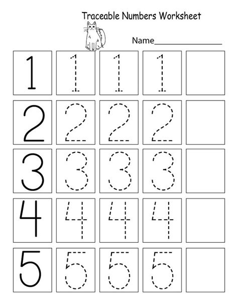 Printable Worksheets For Preschoolers