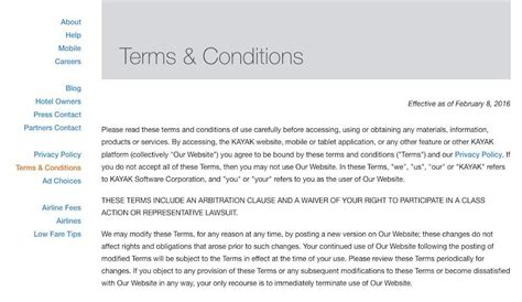 Credit Terms Format Sle Terms And Conditions Template Termsfeed