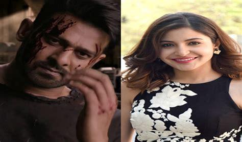 sahoo movie heroine photos anushka sharma to romance prabhas in sahoo