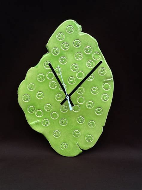 Handmade Ceramic Wall Clocks - 17 best images about pottery clocks on