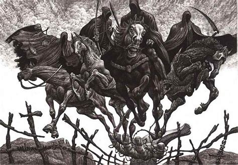 4 horses of the apocalypse are upon us the series john