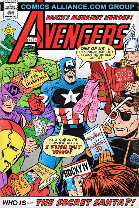 great comics that never happened the avengers in who is