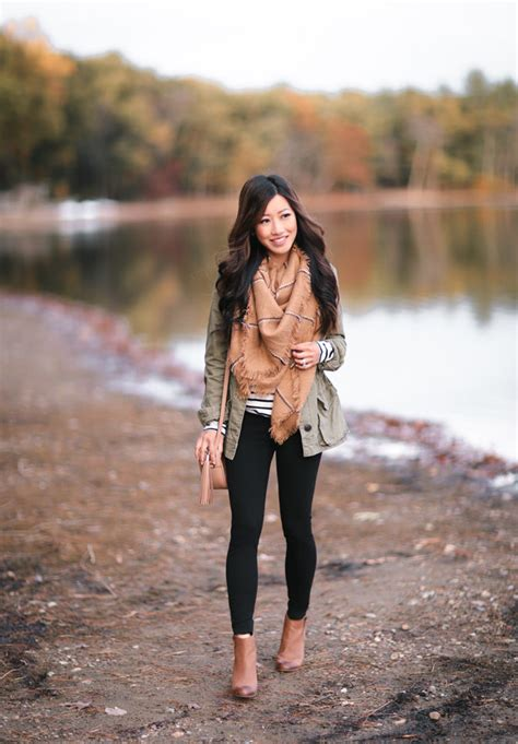 Whitebrownblack Stripe Casual Top 24544 fall layering mvp the olive green utility jacket