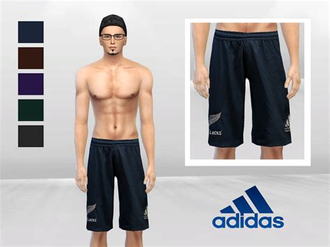 tsr sims 4 clothes sports mclaynesims all sports training shorts sims 4 male