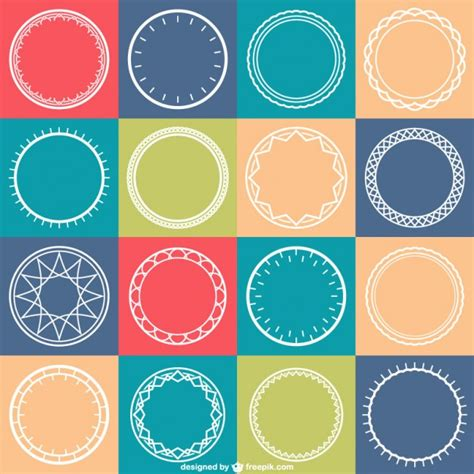 circle pattern vector eps circles pattern vector vector free download